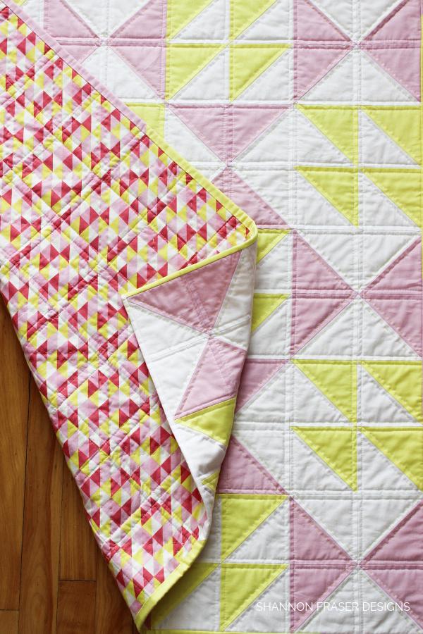 Pink Lemonade Quilt