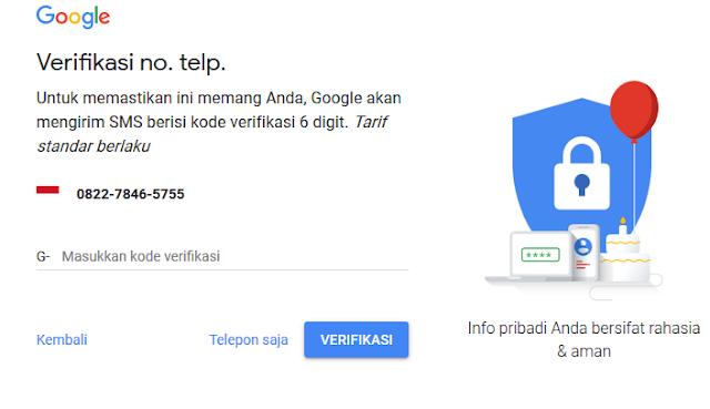 Cara Membuat Akun Google atau Gmail