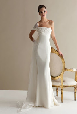 K'Mich Weddings - wedding planning - dress ideas - off shoulder white chiffon dress