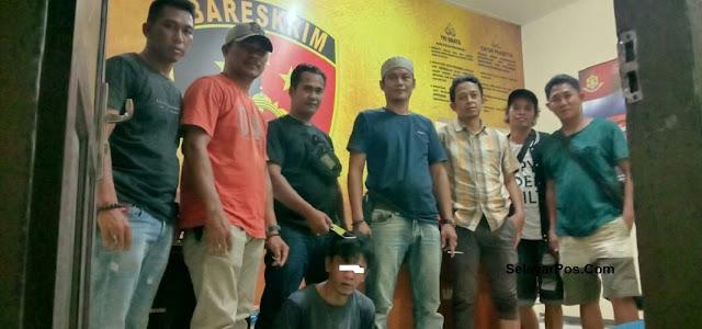 Polisi Ciduk Terduga Pencuri Di Kota Palopo