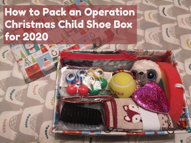 Operation Christmas Child shoebox header
