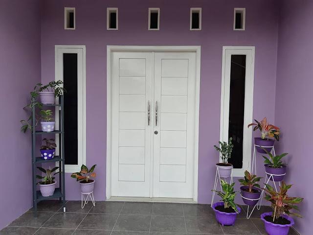 Model Pintu Minimalis Modern Warna Putih