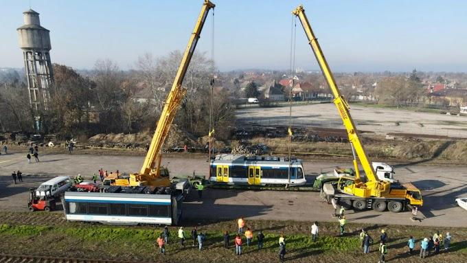 MÁV: megérkezett az első tram-train Magyarországra
