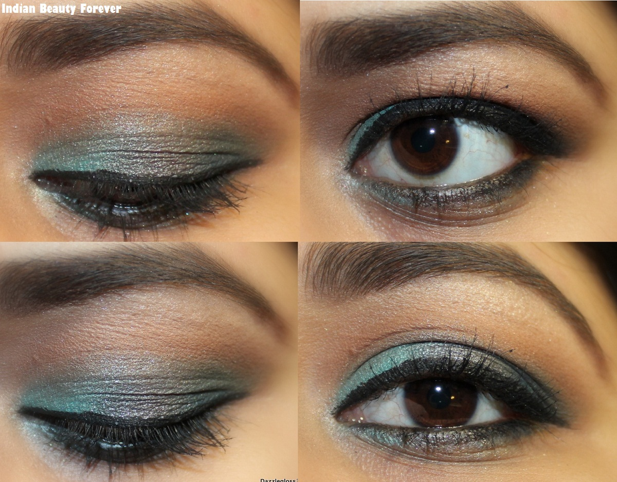 Grey Smokey Eye makeup