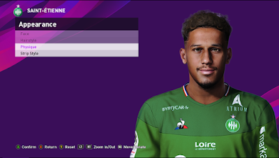 PES 2020 Faces William Saliba by Shaft