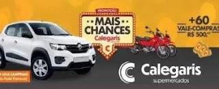 Cadastrar Promoção Calegaris Supermercados 2019 Mais Chances