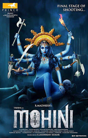 Poster Of Free Download Mohini 2018 300MB Full Movie Hindi Dubbed 720P Bluray HD HEVC Small Size Pc Movie Only At worldfree4u.com