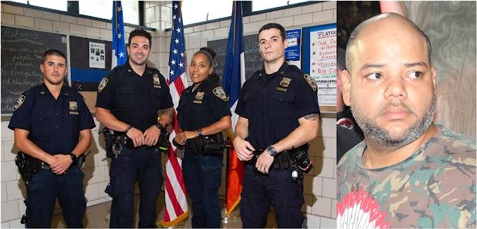 Los policías de El Bronx que salvaron dominicana cuando agonizaba apuñalada por ex marido