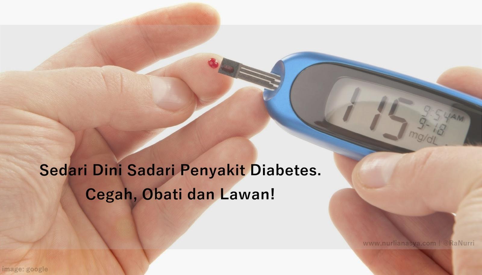 semoga kamu bahagia dengan diabetes