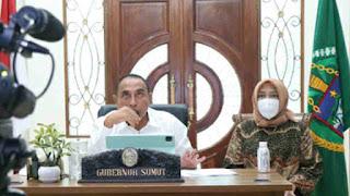 Rapat Evaluasi PPKM Darurat, Gubsu Edy Rahmayadi Laporkan Varian Delta Terdeteksi di Sumut