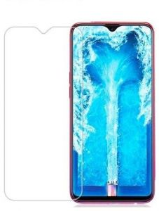 Anti-broken screen protector with glass protection for OPPO F9 - Transparent
