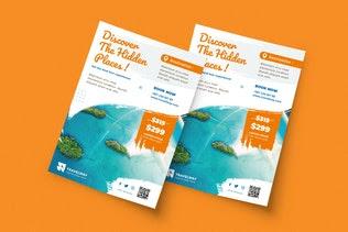 Contoh pamflet wisata