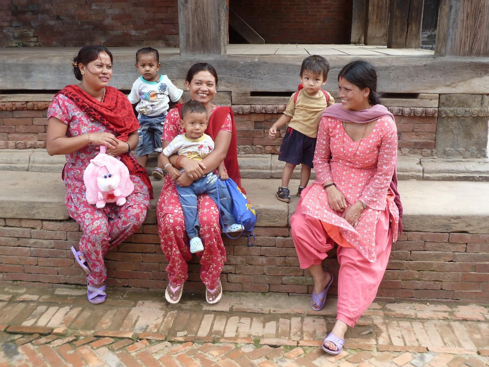 Welsh Davids Travel Blog July People Of Kathmandu Nepal