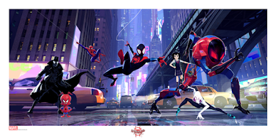 Spider-Man: Into the Spider-Verse Promotional Art Fine Art Giclee Prints by Grey Matter Art