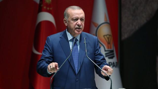 Ξεκάθαρο το αφήγημα Ερντογάν
