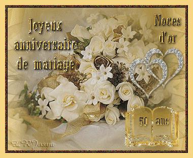 Carte Anniversaire Mariage 50 Ans Gratuite Imprimer