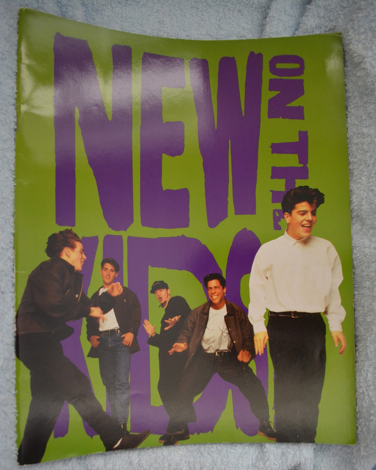 REVIEWS FROM THE ARCHIVE : NEW KIDS ON THE BLOCK 1992 | adventures ...