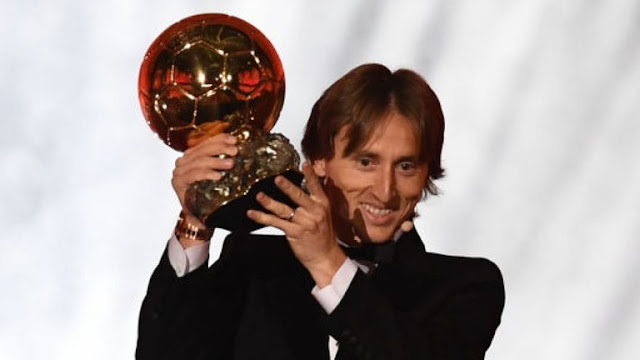 Luka Modric 2018 Ballon D'or
