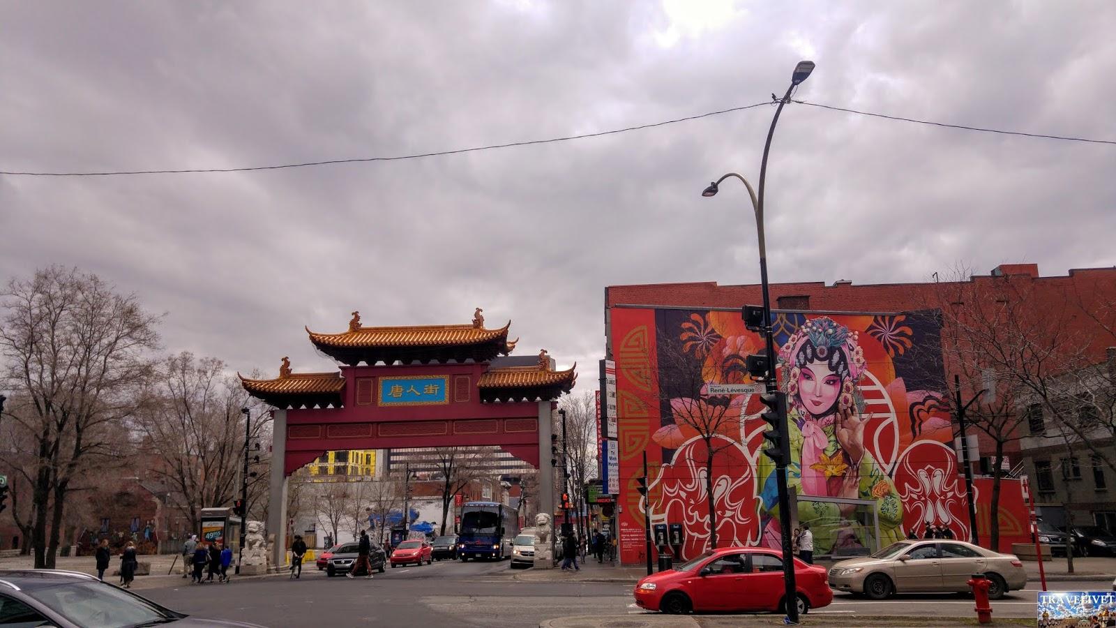 Canada Montréal Chinatown