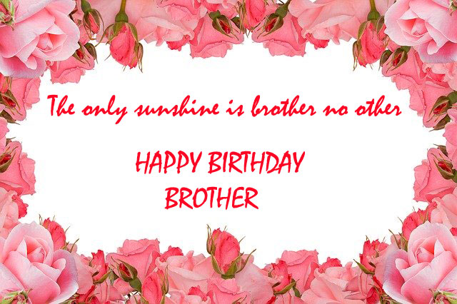 brother happy birthday images