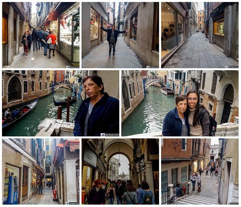 Becos e vielas de Veneza - Diário de Bordo - 1 dia em Veneza