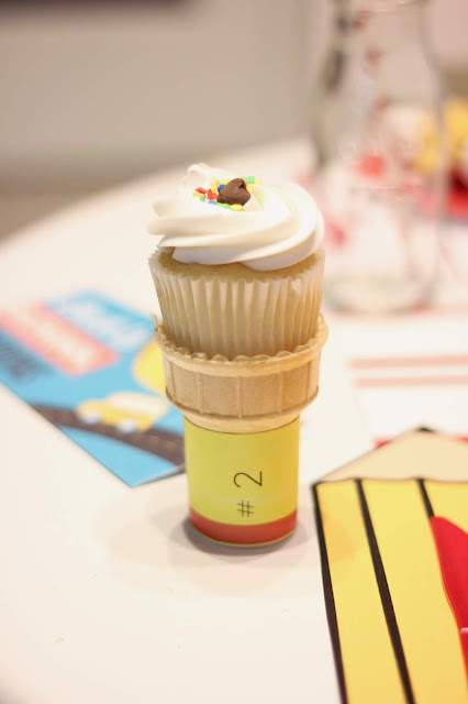 Back to School Breakfast Pencil Cupcake