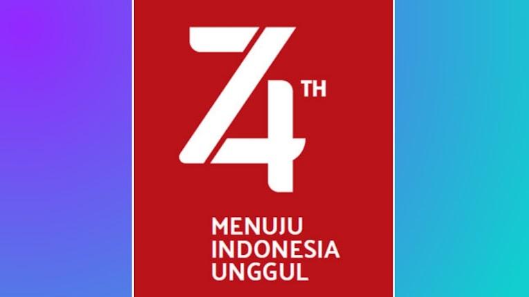 Gapura Minimalis Agustusan Download Logo Hut R1 Ke 74 17 Agustus 2019