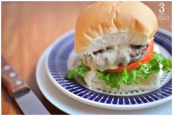como fazer hambúrguer casa