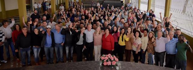 Roncador: 12 partidos oficializam apoio à Doutora Marília