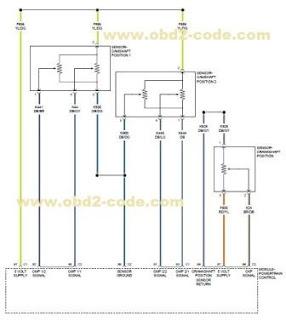 P0365 Camshaft Position Sensor Circuit - Bank 1 Sensor 2