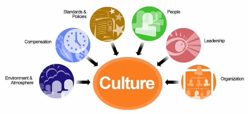 TWO ORGANIZATIONS BASED ON DIFFERENCES IN THEIR ORGANIZATIONAL CULTURE