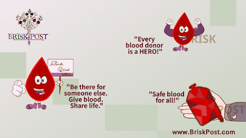 World Blood Donor Day themes and slogans