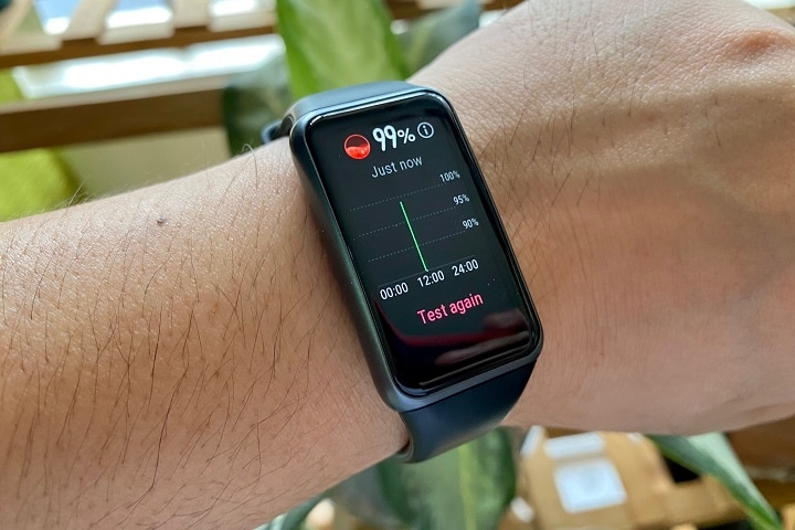 Huawei Band 6 Review: All-day SpO2 measurement