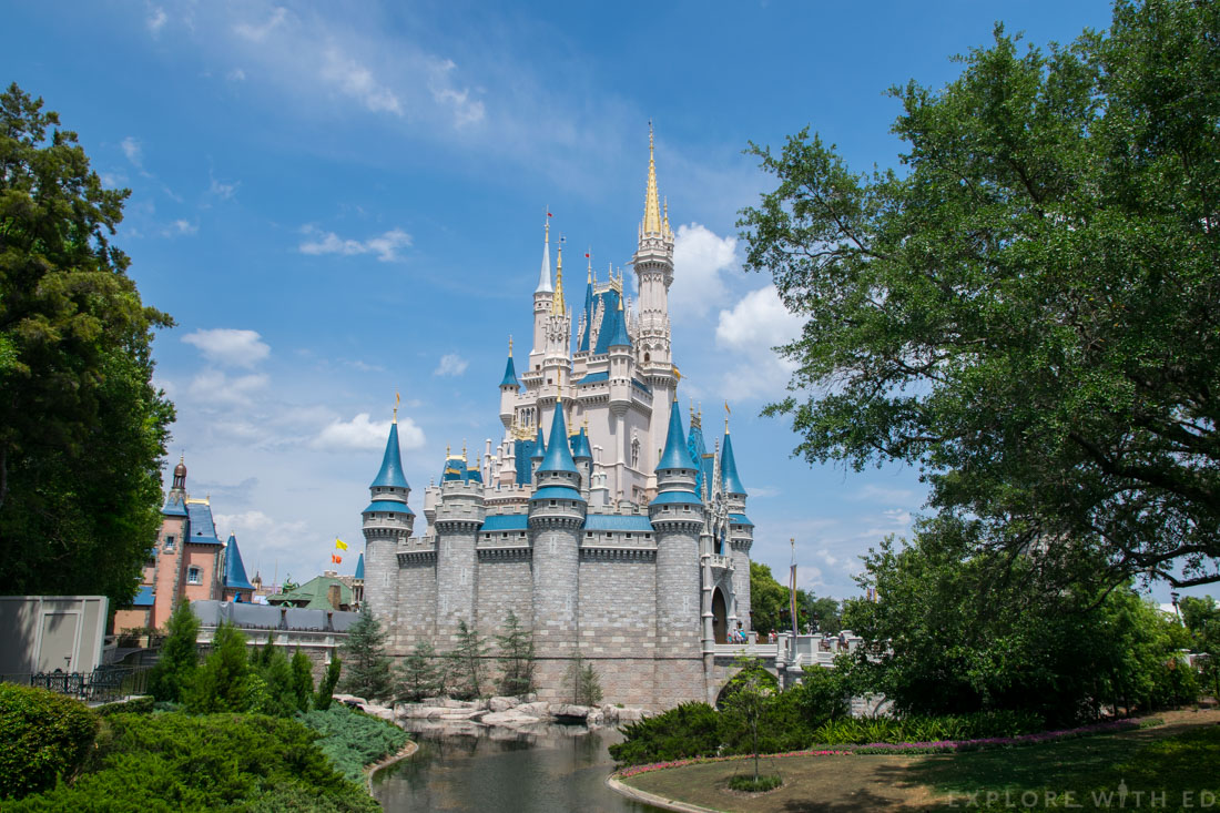Cinderella's Castle in Walt Disney World's Magic Kingdom
