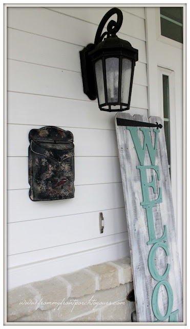 Farmhouse Front Porch-Suburban Farmhouse Porch-From My Front Porch To Yours