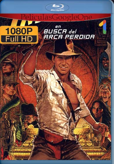 Indiana Jones: En busca del Arca Perdida (1981) [1080p BRrip] [Latino-Inglés] [LaPipiotaHD]