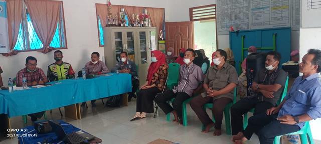 Personel Jajaran Kodim 0207/Simalungun Laksanakan Sosialisasi Pembekalan Tim Pokja Pendataan Tahun 2021