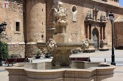 Plaza Mayor de Tarazona de la Mancha, Albacete
