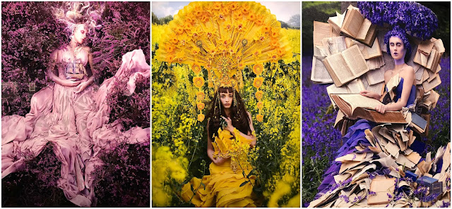 Photo of Kirsty Mitchell photography at fotografiska in Tallinn
