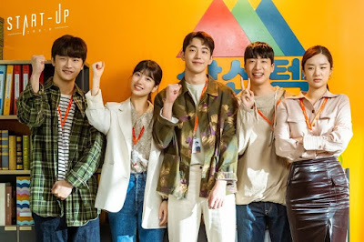 review drama korea on going start up