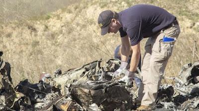 Inilah Hasil Autopsi Pilot Kobe Bryant Tidak Ditemukan Alkohol