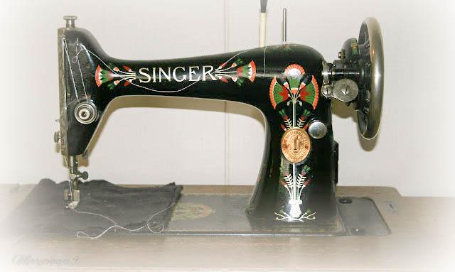 singer vanha ompelukone