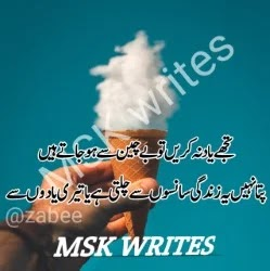 Very Nice Poetry In Urdu