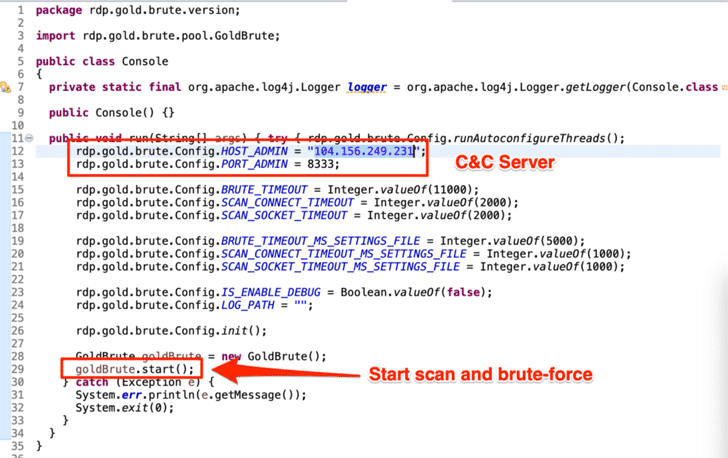 New Brute-Force Botnet Targeting Over 1 5 Million RDP
