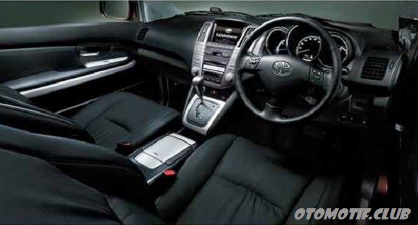 Interior Toyota Harrier Hybrid