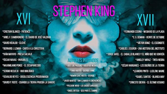 """¡Nueva publicación! Mi relato """"Una historia del instituto"""" aparecerá en el homenaje a Stephen King del Círculo Lovecraft"""