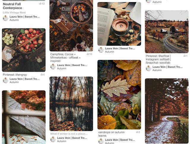 September 2017 Favorites: Pinning Autumn-y Things on Pinterest