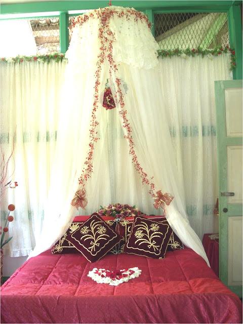 Dekorasi Kamar pengantin minimalis