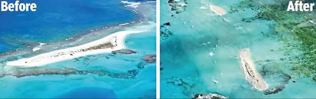 Hurricane wipes tiny Hawaiian island off the map