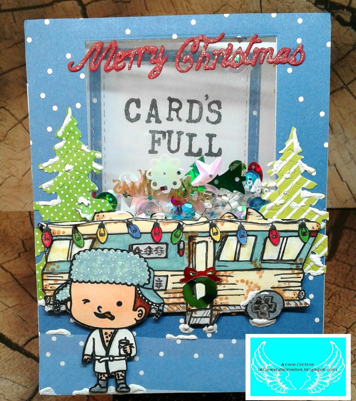 Little Wings Creates: Kindred Stamps November\'s Release Blog Hop
